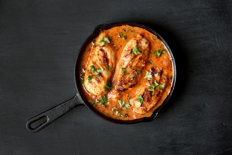 Cocotte de Poulet à la Tomate