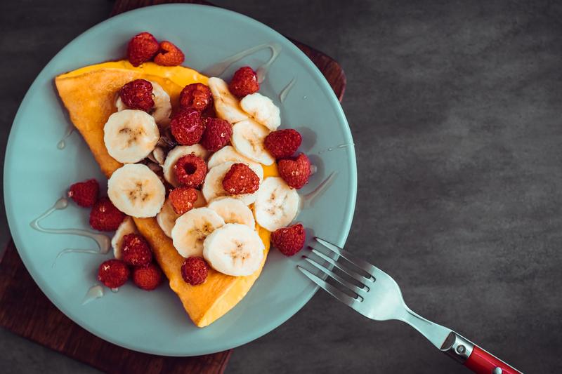 SociaLyme Recette Tortilla Coco aux Fruits