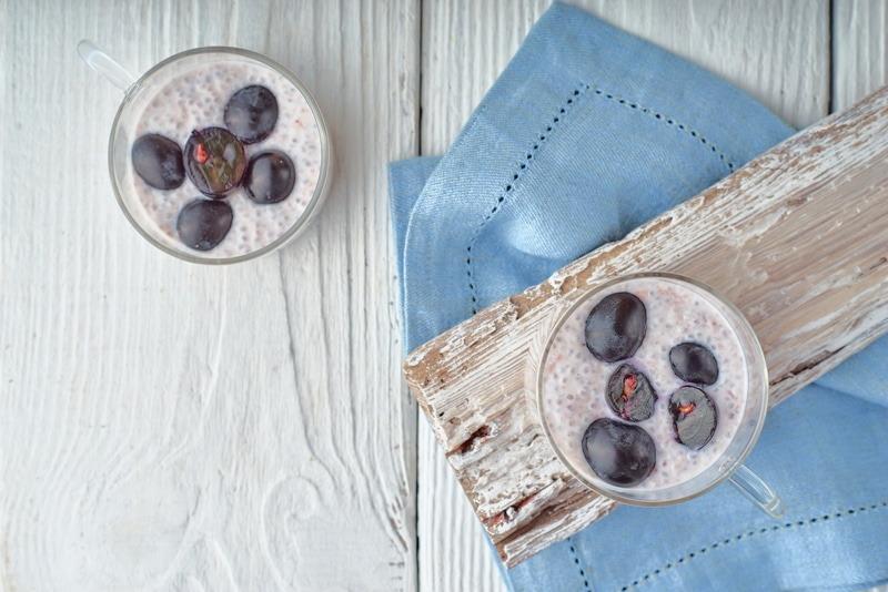 Chia Pudding au Raisin