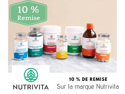 Nutrivita Offres spéciales